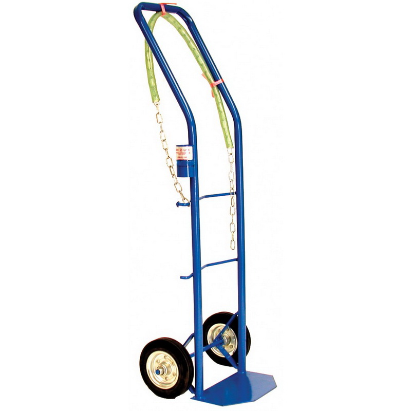 """National Spencer Hand Truck W/ Drum Chain 6"""" Rubber Tires. 450 Lb. Capacity"""