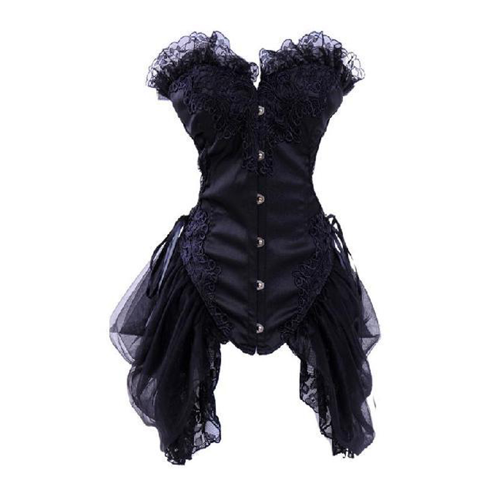 2dcb9c27d5 Opentip.com  MUKA Elegant Boned Costume Corset Dress