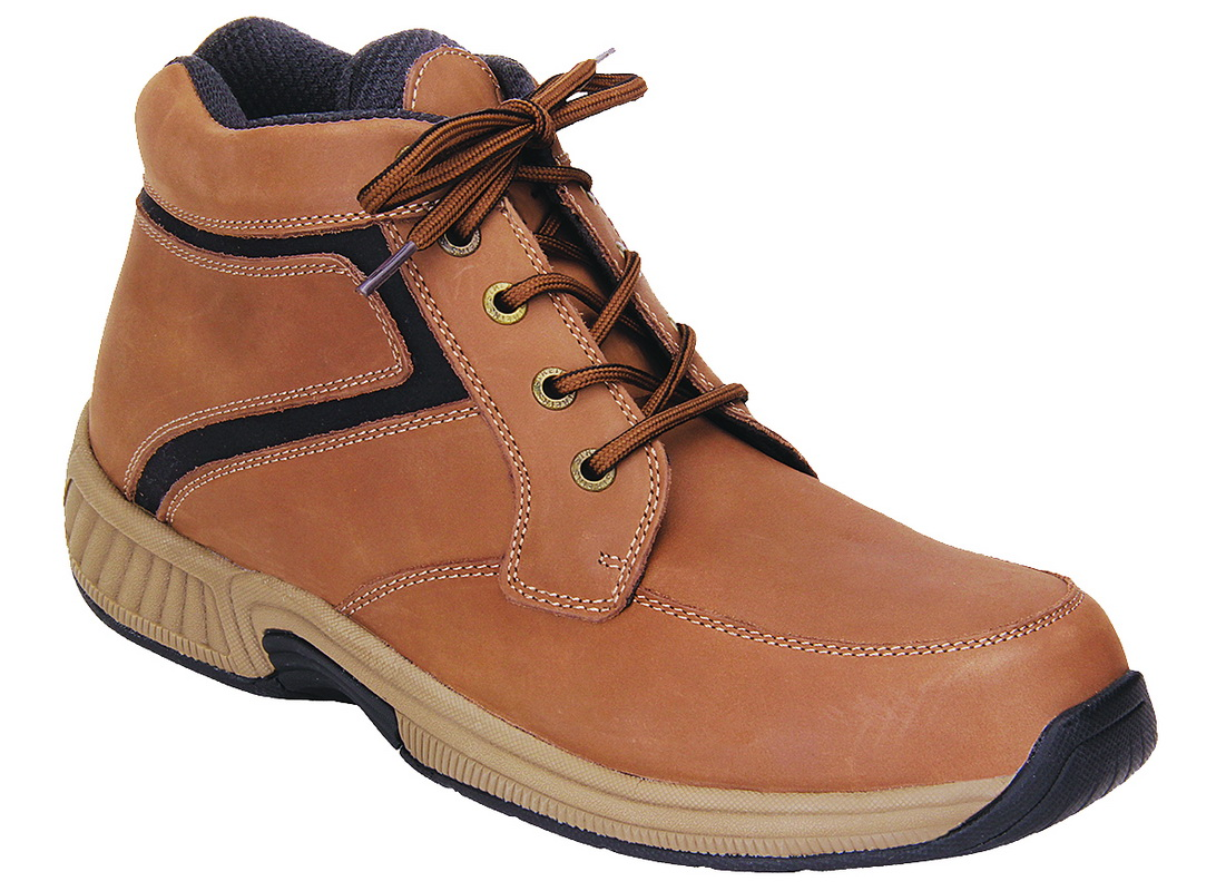 81482df6c15 Orthofeet 487 Highline Men's Boots Lace Up Brown
