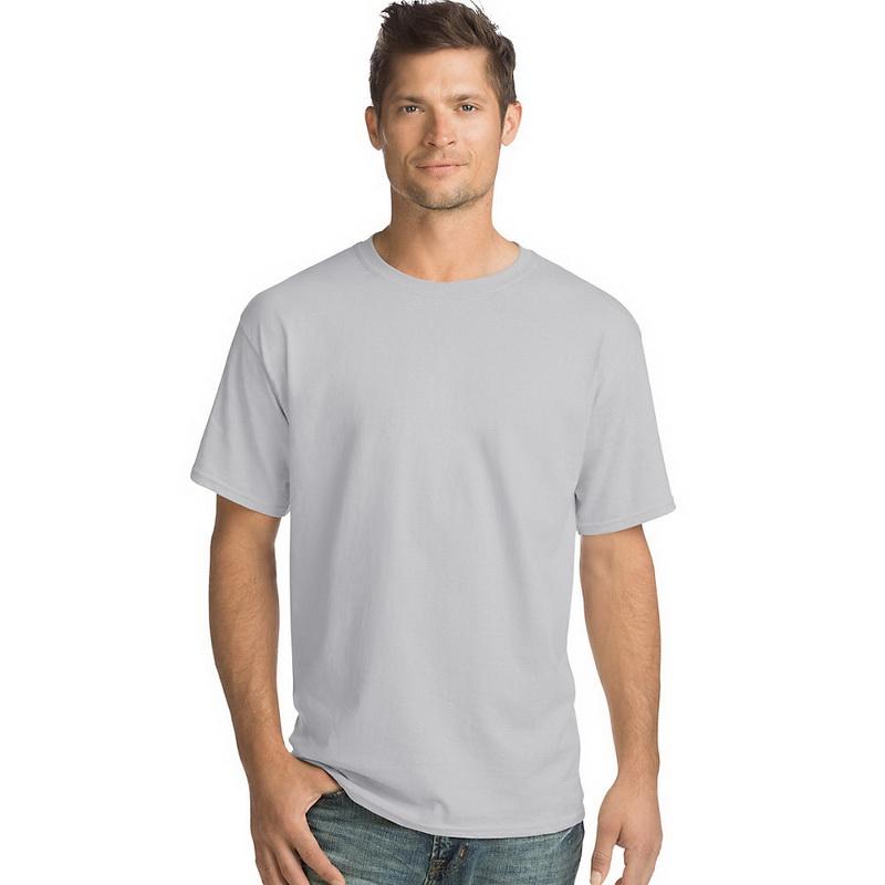 XX-Large, Hanes Adult ComfortBlend EcoSmart T-Shirt Lime Pack of 3
