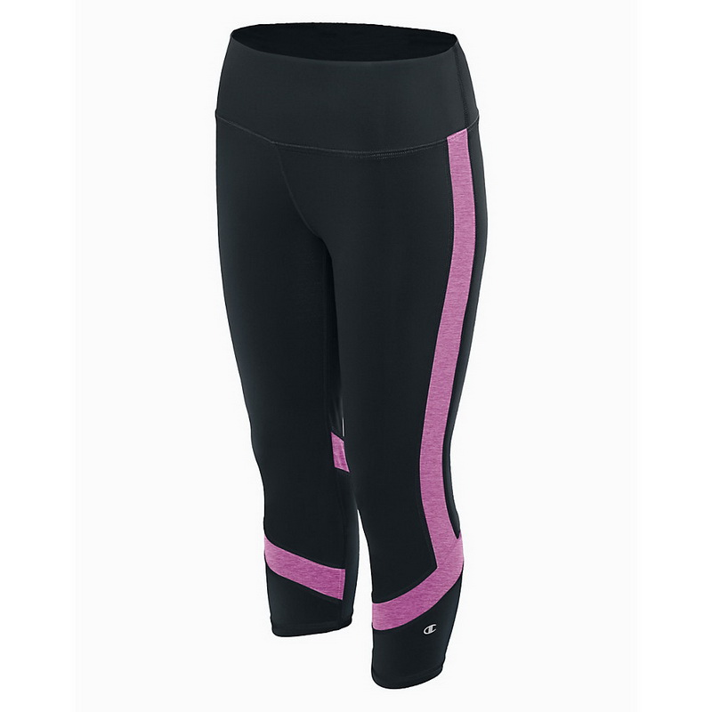 d89ef5d28442 Opentip.com  Champion M1256 Women Absolute Colorblock Capris With SmoothTec  Waistband