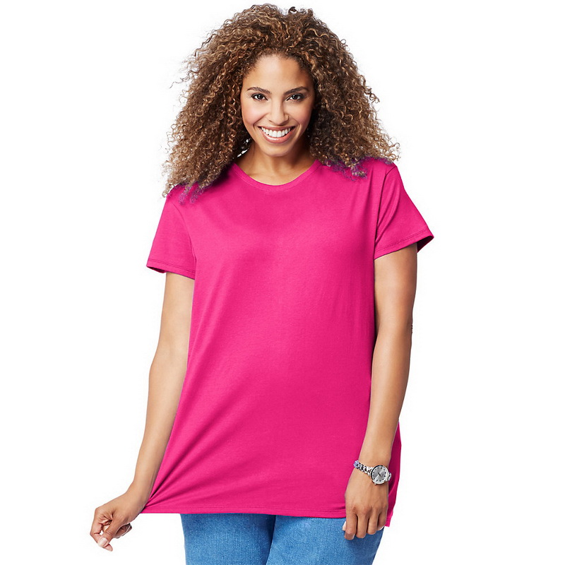 05b4996c Opentip.com: Just My Size OJ777 Cotton Jersey Short-Sleeve Scoop ...