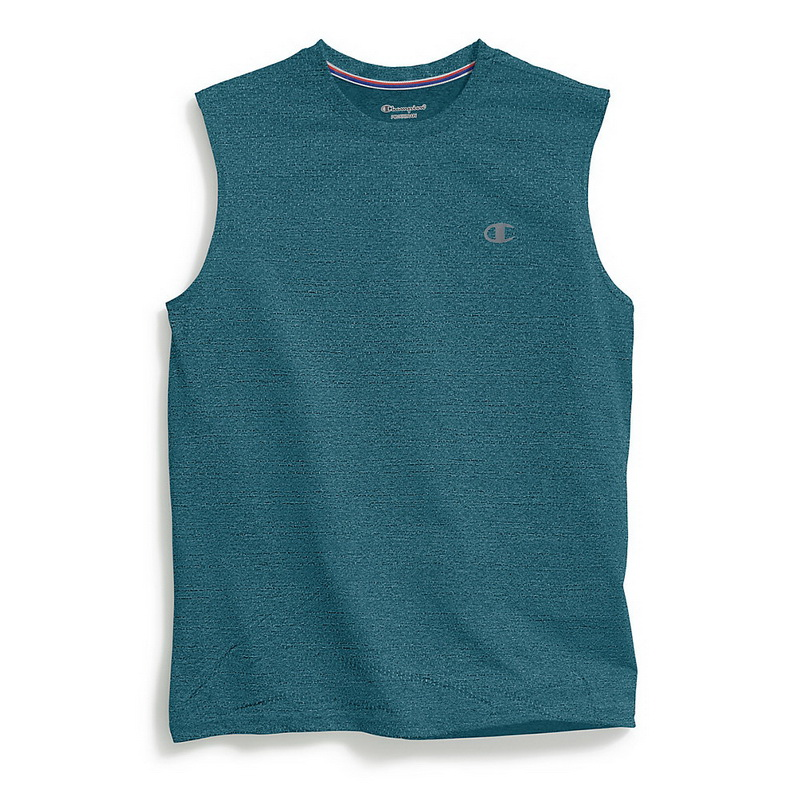 ba54bc94858ab1 Opentip.com  Champion T0767M Men s Double Dry Mesh Texture Muscle Tee