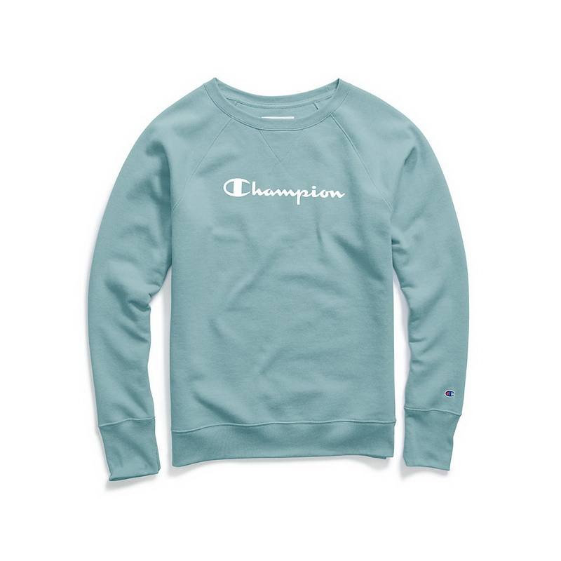 227e8422 Opentip.com: Champion W2956G-Y07050 Women's Fleece Boyfriend Sweatshirt
