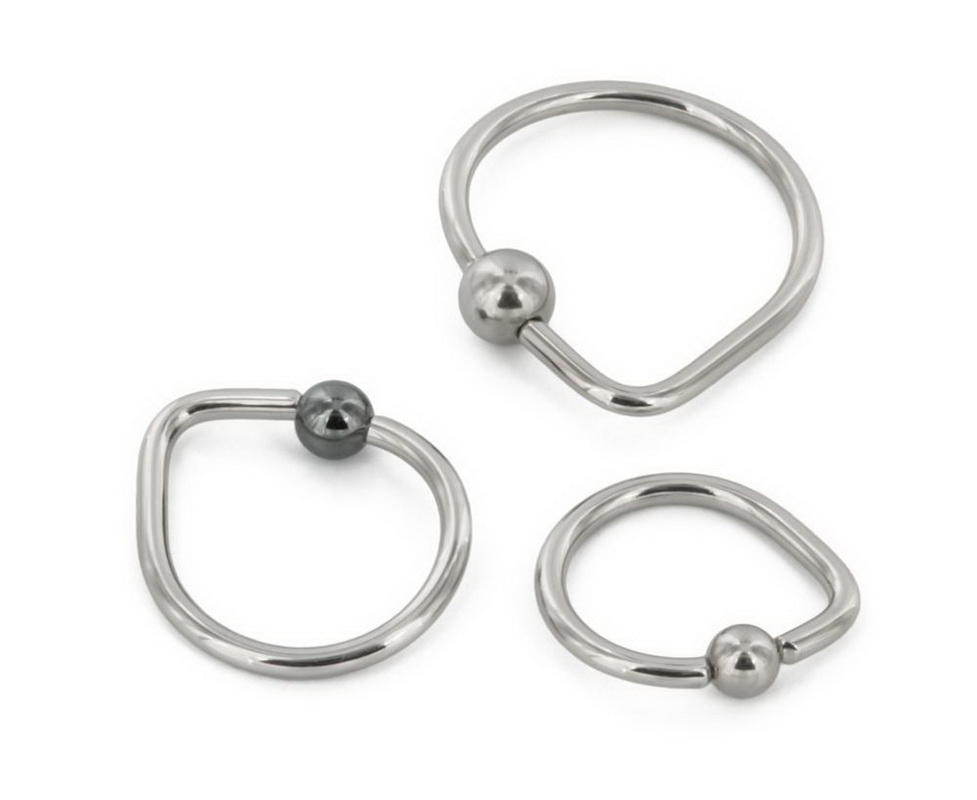 8mm 2mm Mother of Pearl KO Hanger Organic Jewelry Price Per 1