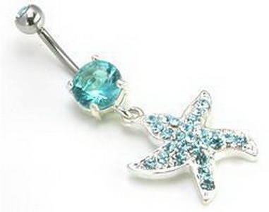 """14g 7//16/"""" Indonesian Sun Sterling Silver Belly Button Ring"""