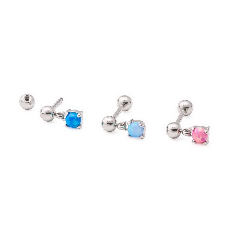 """Painful Pleasures 14g 1-1//2/"""" Twin Royal Heart Industrial Barbell"""