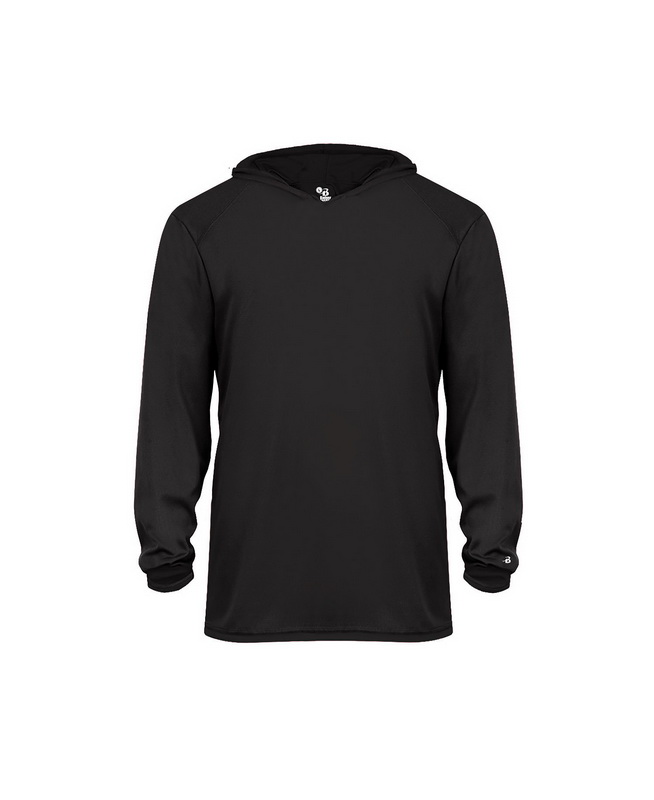 A4 Boys Long Sleeve Youth Full Zip Color Block Fleece Polyester Hoodie NB4251