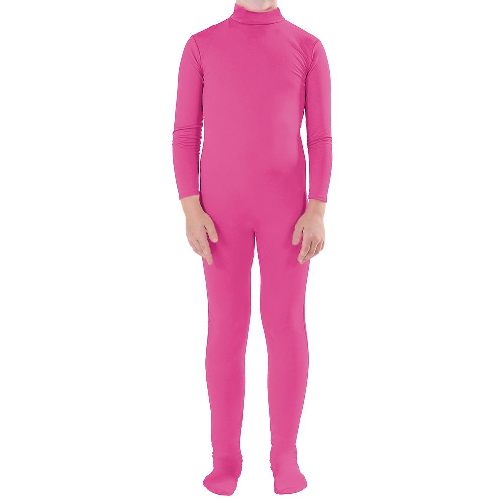 opentipcom muka adult zentai unitard bodysuit halloween costume catsuit hotpink