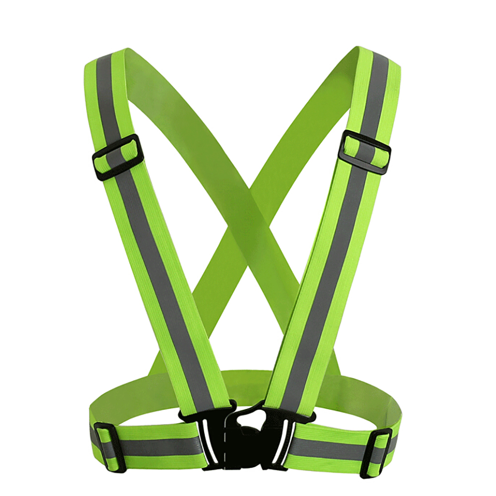 GOGO Hi-Vis Adjustable Safety Vest for Running, Jogging, Cycling