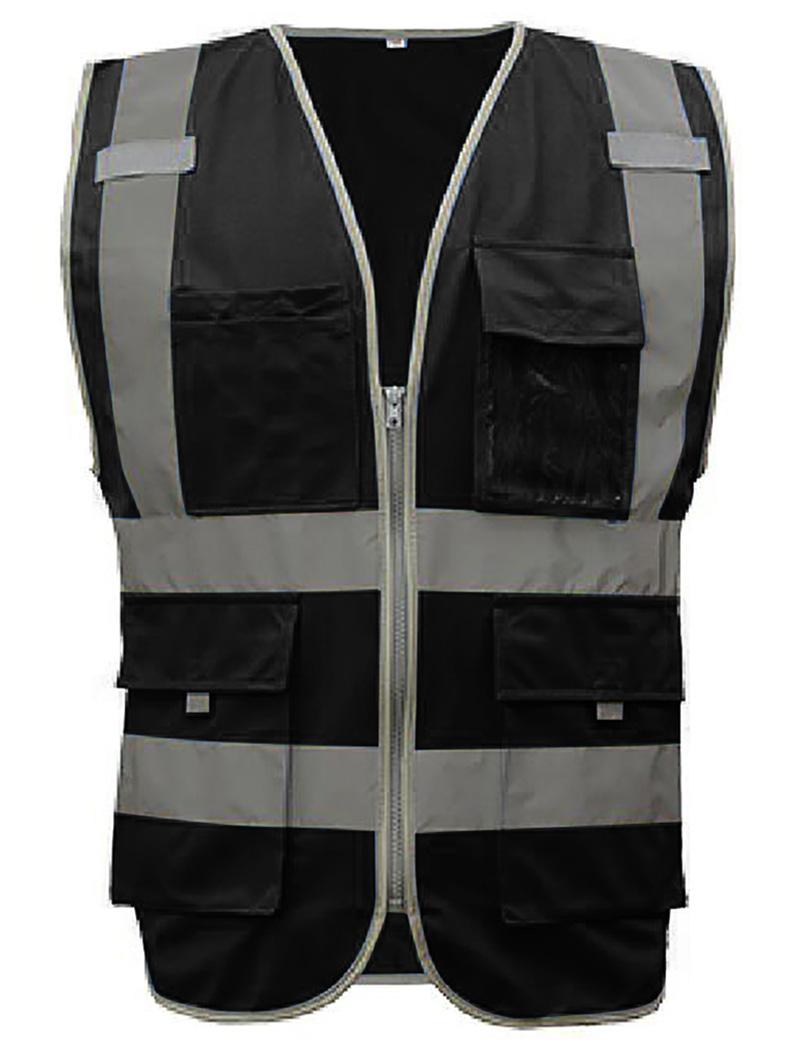 GOGO 9 Pockets Hi-Vis Safety Vest