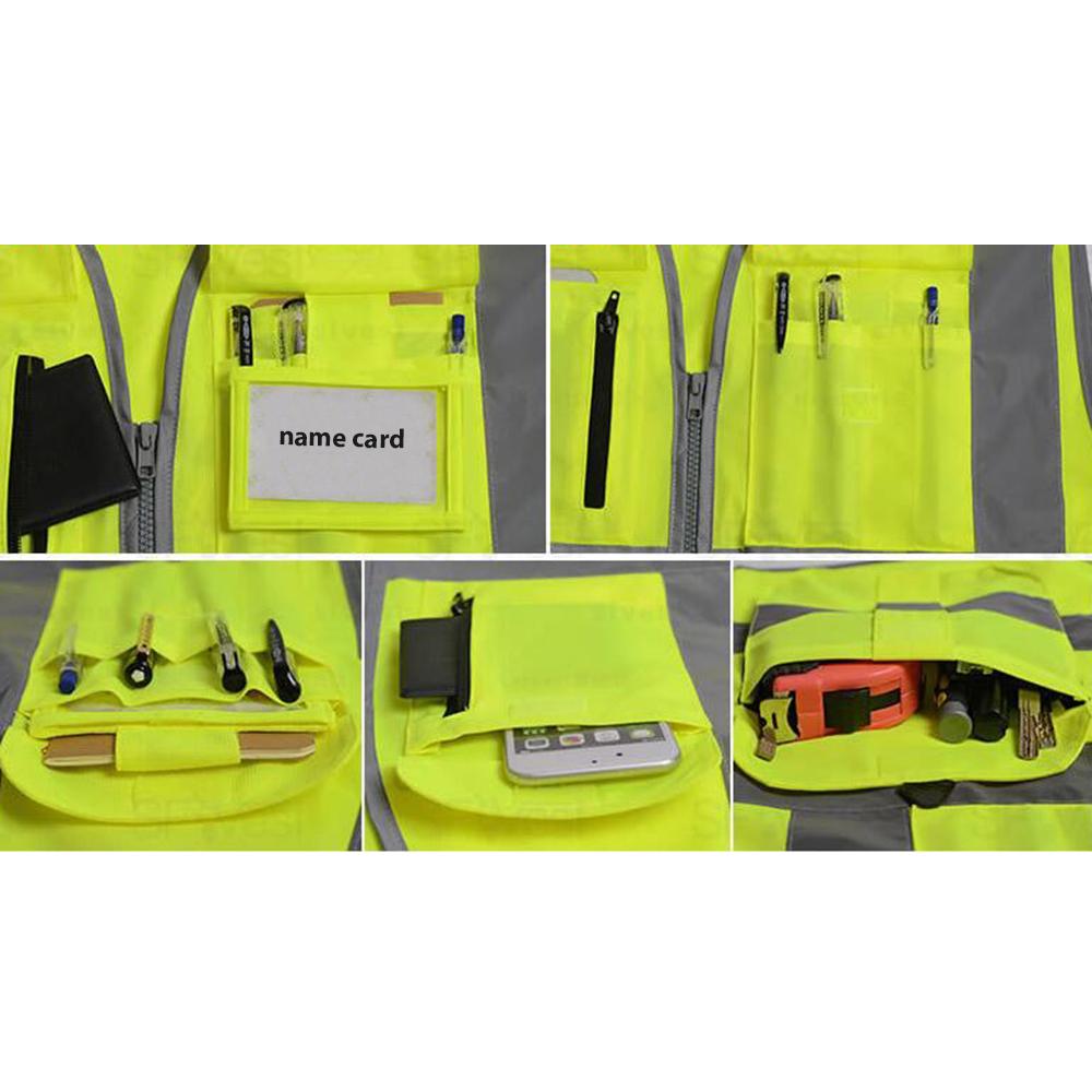 Opentip GOGO Multi Pocket Safety Vest - All Pockets