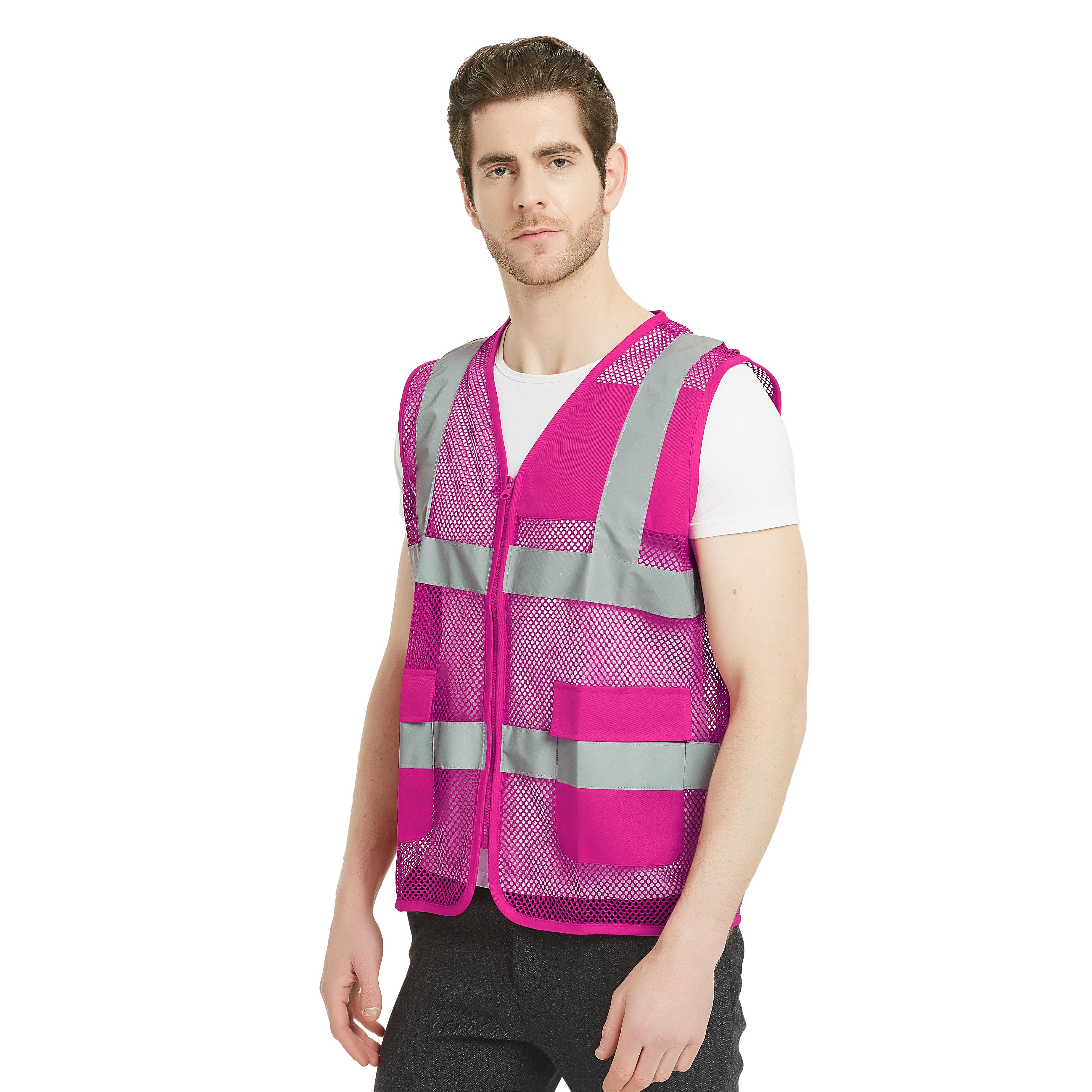 GOGO Unisex Mesh Volunteer Safety Vest