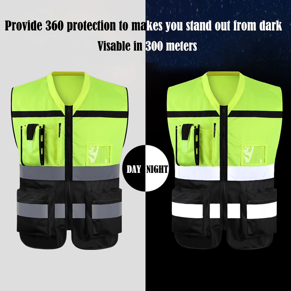 GOGO Hi-Vis Work Safety Vest