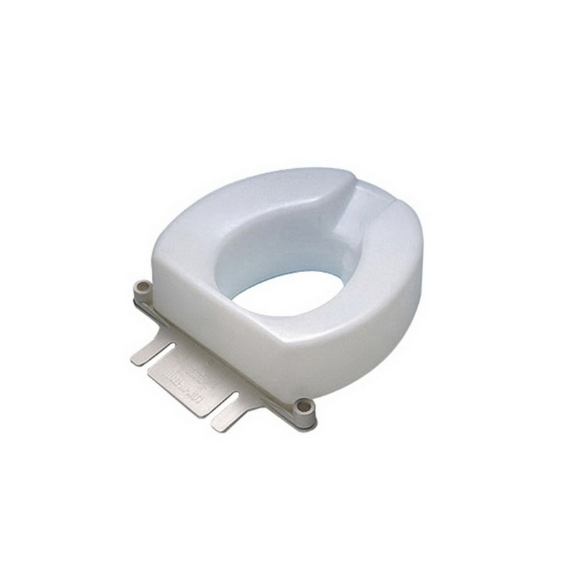 Awesome Ableware 725831006 6 Contoured Tall Ette Elevated Toilet Seat Beatyapartments Chair Design Images Beatyapartmentscom