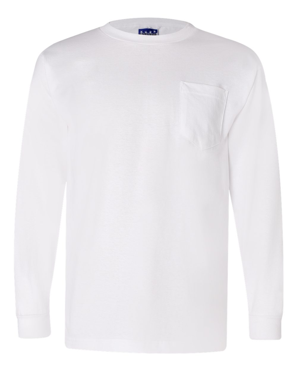 1425b063499 Opentip.com  Bayside 3055 Union-Made Long Sleeve T-Shirt with A Pocket
