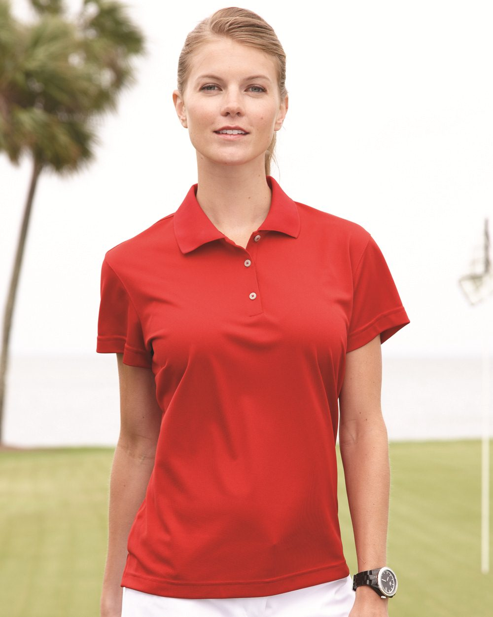 Opentip Adidas A131 Golf Ladies Climalite Basic Polo Shirt