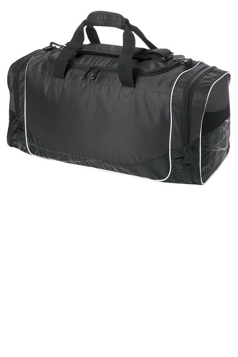 Port /& Company Overnight Bag BG1040 Mens Improved Two-Tone Small Duffel NEW