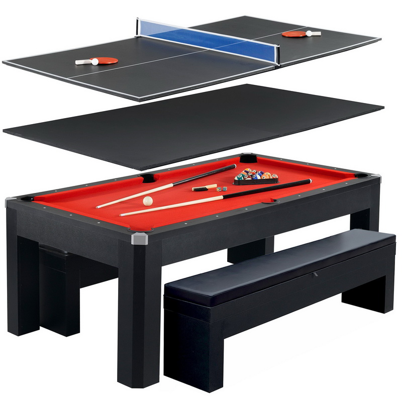 Opentipcom Carmelli NGPR Park Avenue Ft Pool Table Combo Set - Carmelli pool table