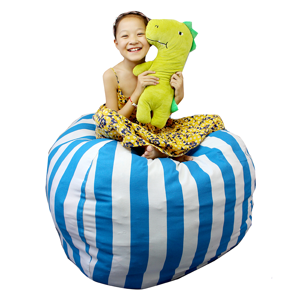 Super 38 Extra Large Stuffed Animal Bean Bag Chair Canvas Soft Toy Storage Bags For Kids Childrens Squirreltailoven Fun Painted Chair Ideas Images Squirreltailovenorg