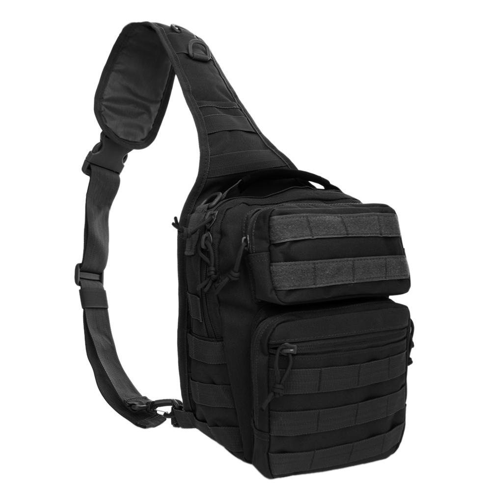 a7011bbdabc6 TOPTIE Tactical Sling Bag Pack Military Rover Crossbody Sling Backpack  Molle Assault Range Shoulder Bag for Men Women Outdoor Hunting Camping