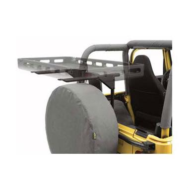 Bestop BST41411-01 HighRock 4x4 Tailgate Rack Bracket System in Black