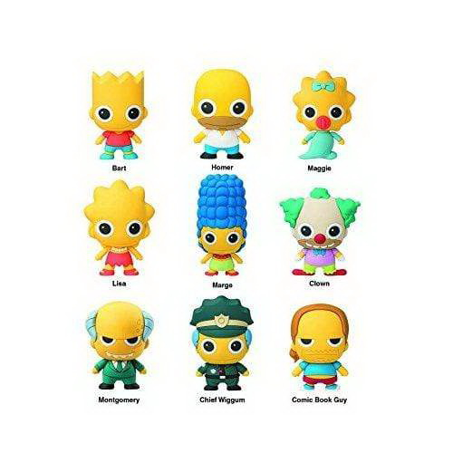 The Simpsons Collectors Figural Keyring Series 1 3 Inch Lisa