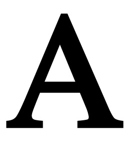 Opentip.com: Village Wrought Iron LET A Letter A Large, Price/Each