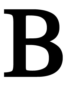 : Village Wrought Iron LET-B Letter B Large, Price/Each