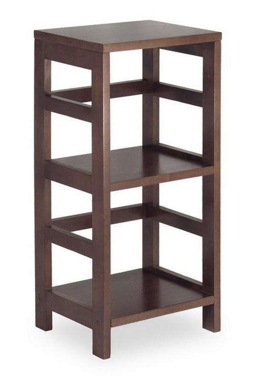 Winsome 92314 Wood Leo Shelf Storage Book 2 Tier Narrow Sale Reviews Opentip