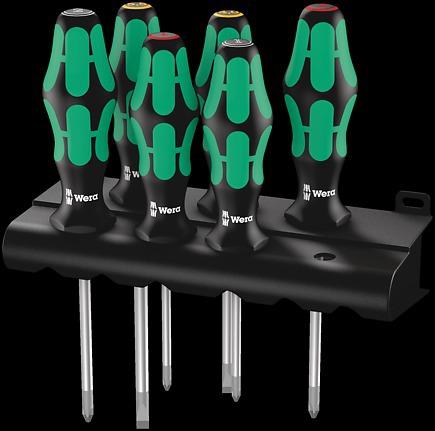 Wera 05008723001 Screwdriver for Phillips Screws 350 PH 2x150mm