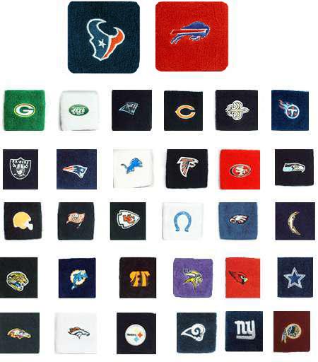 GOGO Wristband with NFL Team Logo