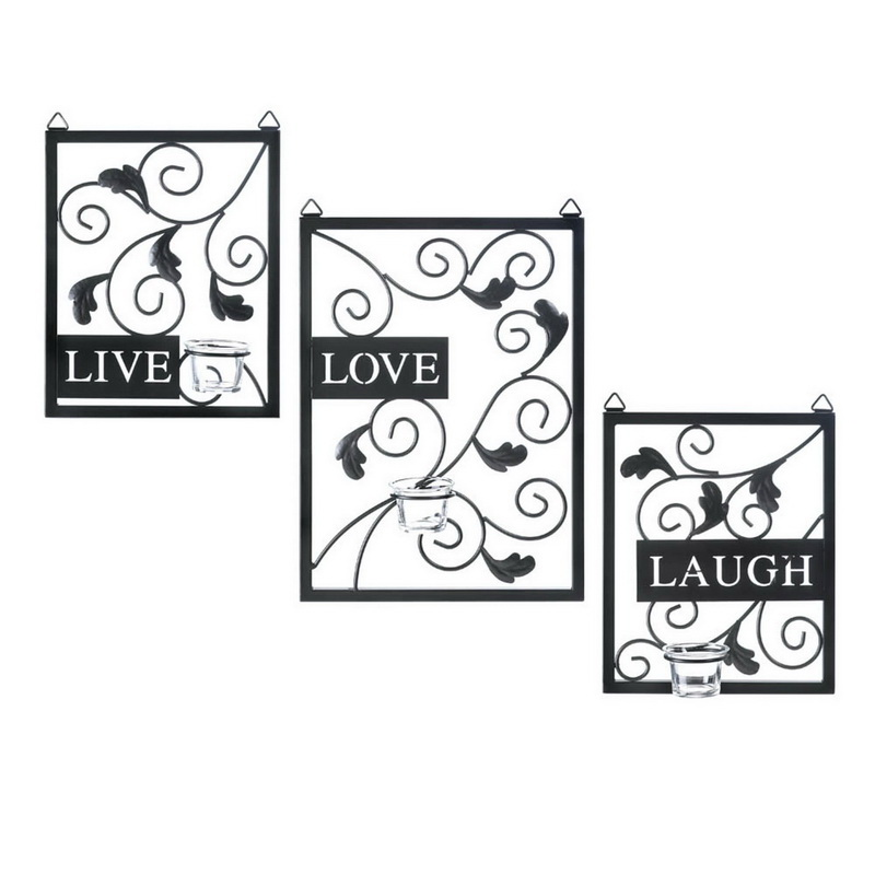 Opentip Zingz Thingz 57071286 Live Love Laugh Wall Decor