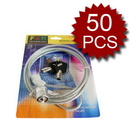 Cables To Buy Security Laptop Locks With 2 Keys, 3.94 Ft (1.2 M), 50 Pcs