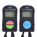TOPTIE 2 PCS Electronic Counters, Digital Tally Counter with Lanyard, Add & Subtract Manual Clicker