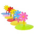 TOPTIE 6 PCS Cute Flower Silicone Cup Lids, Airtight Seal Mug Cover, Drink Cup Covers