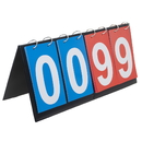 GOGO 4-Digital Portable Tabletop Scoreboard / Score Flipper 0-99