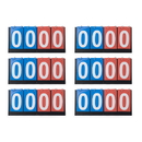 GOGO 6 Pieces 4-digital Desktop Scoreboards, Scoreboard Wholesale