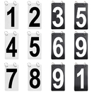 GOGO 12 Sets Double Sides 0-9 Number Cards, 4