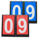GOGO 2 Sets Portable Tabletop Sports Scoreboards, 00-99