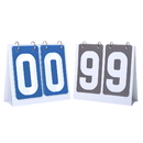 GOGO 2 Sets Portable Flip Scoreboard for Multi Sports 00-99