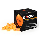 GOGO 144PCS 3-Star Ping Pong Balls Premium 40mm Seamless Table Tennis Balls