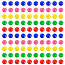 Officeship 100PCS Whiteboard Magnets, Office Magnets, Fridge Magnets Round 3/4