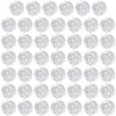 TOPTIE 48 Pack Practice Golf Balls, Hollow Plastic Balls 5 Inch Circumference, Training Golf Balls