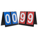 TOPTIE Set of 2 Portable Table Top Scoreboards for Basketball Tennis Sports 00-99