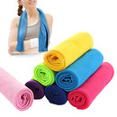Blank Sports Instant Cooling Towel for Workout, Fitness, Gym, Yoga, Travel, Camping - solid color