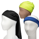 Blank Solid Color Multi-Purpose Seamless Mask Bandanas, Head Scarf, 9 1/2