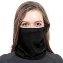 Blank Solid Neck Gaiter Promotion Seamless Face Mask Balaclava Tube Hat Bandana for Dust Outdoors, 9 1/2