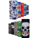 Custom All Over Print Multifunctional Seamless Mask Bandanas, Headband, 9 1/2