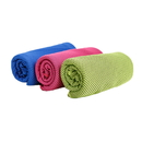 Custom Extra Long Soft Breathable Mesh Cooling Towel for Instant Relief, 40